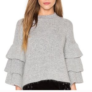 NWT endless rose tiered sweater